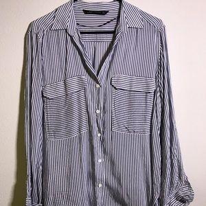 [Zara] Button-up Blouse